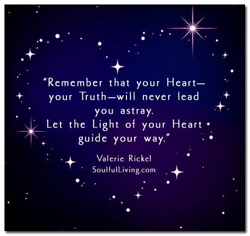 Let the Light of Your Heart Guide Your Way